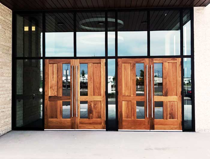 Commercial Doors and Windows Winnipeg